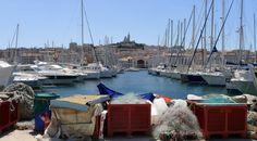Vue du vieux port de marseille