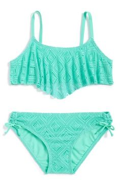 Girl's Gossip Girl Two-Piece Swimsuit, maybe add black bottoms