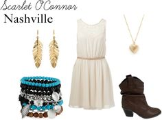 """""""Scarlet O'Connor"""" by rebecca-fitzpatrick on Polyvore"""