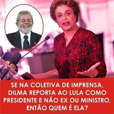 Brasil-Dilma Rousseff-2016-Frase-Se na coletiva de imprensa, Dilma reporta ao Lula como Presidente...