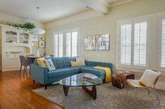 Modern Mid Century Living room design p