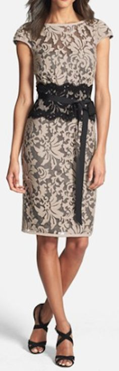 embroidered lace sheath dress  http://rstyle.me/n/jgjezpdpe