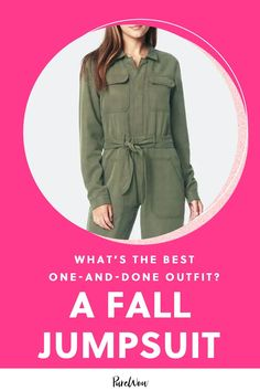 For those who're looking to embrace the one-piece wonder, here are 19 fall jumpsuits we're currently lusting after. #fall #jumpsuit #fashion