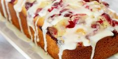 A Wonderful Orange And Cranberry Bread Recipe - Afternoon Baking With Grandma Bread Cake, Dessert Bread, Apple Loaf Cake, Bread Recipes, Cake Recipes, French Apple Cake, Orange Muffins, Cranberry Bread, Baking Classes