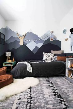 Ideas Children Room Loft Boys For 2019 House Tiles, Style Tile, Floor Patterns, Brickwork, Cool Rooms, Outdoor Rooms, Soft Furnishings, Kids Room, Loft
