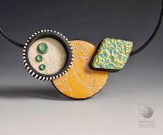 KATO POLYCLAY | Blog oficial en España. Polymer clay necklace by Bettina Welker.