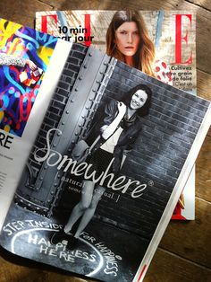 Happiness Here - ELLE magazine Spring 2014 - The Mazeking. Photo by Fabrice Mabillot. Elle France. #themazeking #FabriceMabillot #happinesshere #happinesscircles #tohappiness #art #streetart #story #Elle #ellemagazine #paris #french #france #ElleFrance
