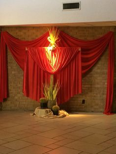Image result for catholic church decorating for pentecost