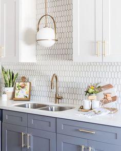 Kitchen Cabinets And Backsplash, White Kitchen Cabinets, Base Cabinets, Kitchen White, Upper Cabinets, Bathroom Cabinets, Backsplash Ideas, Bathroom Vanities, Gray Cabinets