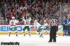 6 seconds to tie the game? No problem for Koivu. #mnwildcelly