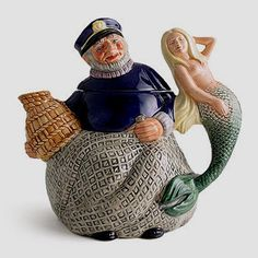 Royal Doulton Old Salt Teapot D6818 issued in 1989