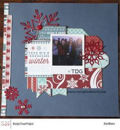 Carta Bella All Bundled Up MFT Dies Scrapbooknerd.com My Scrapbook, Scrapbook Layouts, Scrapbooking, Page Layout, How To Introduce Yourself, Mini Albums, Sketches, Paper Crafts, Create
