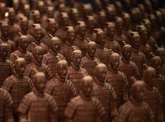 The World Chocolate Wonderland, a new theme park made entirely of chocolate has just opened in China's Shanghai on Friday, December 16. Everything on display was made from chocolate, including a replica of a life-size BMW, the ancient China's famous Terracotta Warriors and the traditional Chinese symbol of the dragon