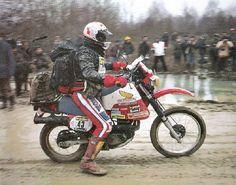 Philippe AURIBAULT - Dakar Prologue N°43 - Paris Dakar 1983