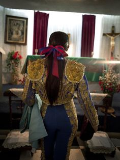 Gorgeous photos of female matadors