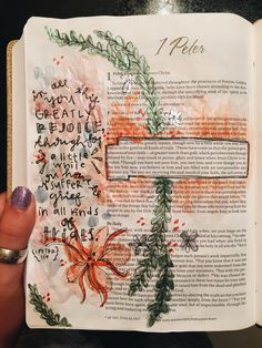 I wish I could draw in my bible and it look good Bible Verses Quotes, Bible Scriptures, Bibel Journal, Bible Doodling, Bible Study Journal, Bible Notes, In Christ Alone, Illustrated Faith, Bible Art