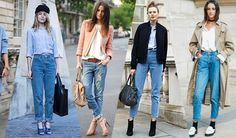 The jean design taking the fashion world by storm is the loose-fitting, high waisted, inspired denims, called Mom jeans, and here's why you need them. Fashion Designing Course, Fashion Design Classes, Backstreet Boys, Dandy, Bollywood, Lace Up Gladiator Sandals, Fashion Words, Next Fashion, Fashion Tips