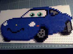 Hama beads Perler Disney Cars Sally