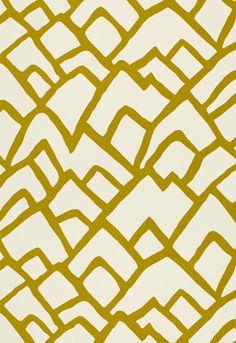 Schumacher Zimba pattern in Chartreuse