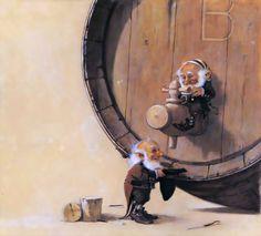 Jean-Baptiste Monge: fabulous illustrations. Comments: LiveInternet - Russian Service Online Diaries