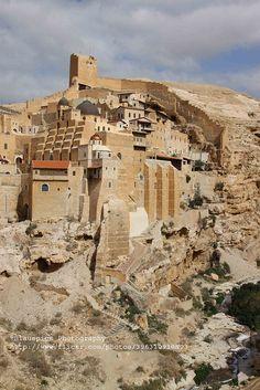 Mar Saba, Greek Orthodox monastery, Kidron Valley Israel