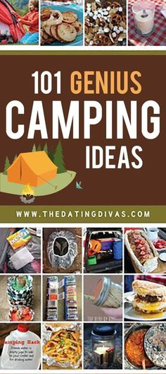 Genius camping hacks & ideas for your next camping trip! #camping