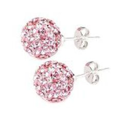 * Penny Deals * - FANTOM Stunning 2.00 Carat Pink Crystal Cz Stud Earrings 925 Sterling. 1.00 Carat Each * You can get more details by clicking on the image.