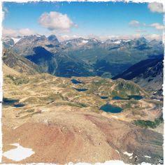Munt Baselgia 2945 m, Lais da Macun, Switzerland