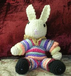 crochet yo yo rabbit
