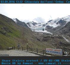 web cam Santa Caterina Valfurva - ghiacciaio dei Forni