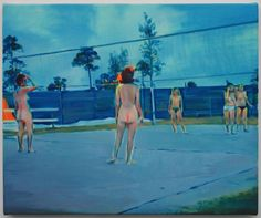 """les nudistes"" Nina Childress"