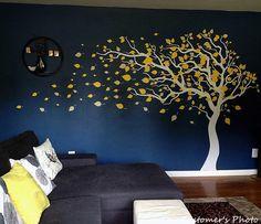 Árbol de pared calcomanías bebé habitación calcomanía por PopDecors