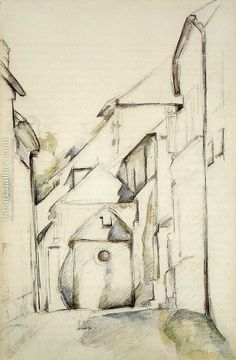 The Church Of Saint Pierre In Avon Paul Cezanne Reproduction | 1st Art Gallery