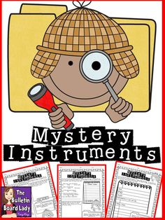 A great way to get students to show what they know about instruments!
