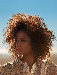"sand-snake-kate: ""BAFTA 2015 – Women In Film"" Gugu Mbatha-Raw by Chris Floyd LOVE her and her hair!!"