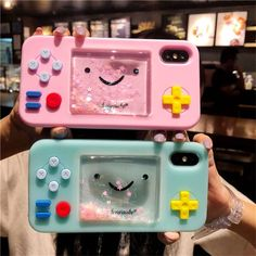 Details about Cute game console smile Glitter liquid Rubber case cover for iphon. - Details about Cute game console smile Glitter liquid Rubber case cover for iphone XS Max 7 8 – Wa - Iphone 3, Coque Iphone, Iphone Phone Cases, Iphone 8 Plus, Cool Iphone Cases, Apple Iphone, Iphone Glass, Iphone Watch, Cool Cases