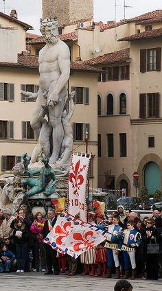 Piazza della Signoria, province of Florence Tuscany