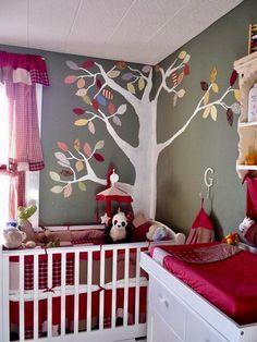 Ideias de design de berçário para bebé