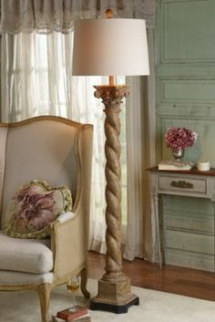 Torsion Floor Lamp from Soft Surroundings