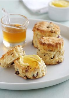 Honey and Date Scones are the sweetest natural morning or afternoon tea snack :)