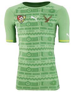 Camisas de Togo 2014-2015 Puma Reserva