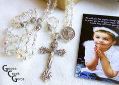 Catholic Crystal First Communion Confirmation by GooseCreekGems