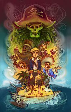 The Treasure of Monkey Island