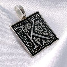 K is for Kindred  Donatienne  recycled silver by TeresaDeLeen