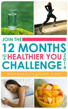 Want to change your life from the inside out? Join me for the 12 Months to a Healthier You Challenge -- a year-long challenge dedicated to helping you develop longterm healthy habits. This challenge could change your life. Are you in?!