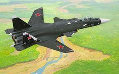 Sukhoi Su-47 Berkut by Jaroslav Velc