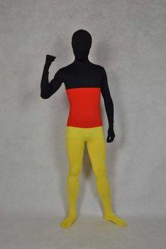 Germany Flag Spandex Full Bodysuit Zentai