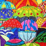 Kunstunterricht in der Grundschule, Kunstbeispiele für die 6. Klasse, Schuljahr 2013 - 136s Webseite!