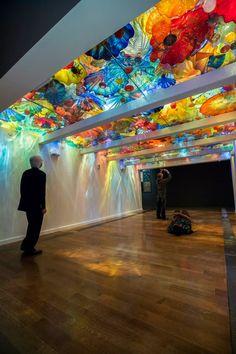 Chihuly Persian Ceiling at Virginia Museum of Fine Arts (VMFA).