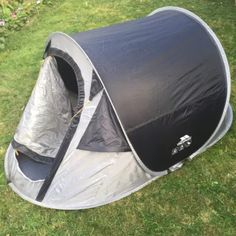 Trespass 2 Man Festival Pop Up (Popup) Tent - C&ing / Festivals & Quechua 3 Seconds 3 Man Popup Tent Double Skin Camping / Festival ...